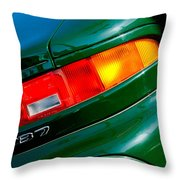 Aston Martin Db7 Taillight Throw Pillow