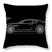 Aston Martin Db9 Phone Case Throw Pillow