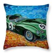 Aston Martin Dbr1 Throw Pillow