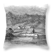 Astoria, Oregon Throw Pillow