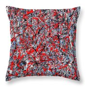 Astral Gate 2001 Throw Pillow