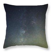 Astro Photography Milky Way Throw Pillow
