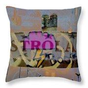 Astroland Throw Pillow