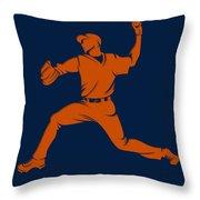 Astros Shadow Player1 Throw Pillow