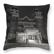 Asylum In The Dark Throw Pillow