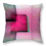 Asymmetrical Symmetry Throw Pillow