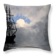 At Anchor Throw Pillow