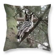At Attention Throw Pillow