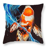 At Dragon's Gate Throw Pillow