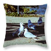 At Flight-1 Throw Pillow