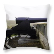 At Fort Trumbull Throw Pillow