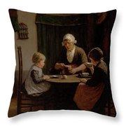 At Grandmothers Throw Pillow