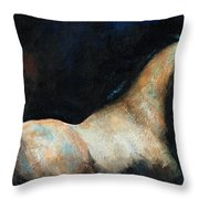 At Liberty Throw Pillow