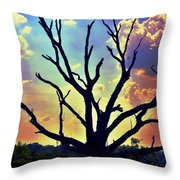 At Life's End There Is Light Throw Pillow