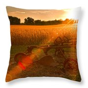 At One Time Throw Pillow