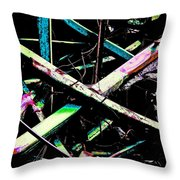 At Rainbow's End Throw Pillow