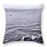 At Sea Throw Pillow