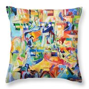 at the age of three years Avraham AVine recognized his Creator 5 Throw Pillow