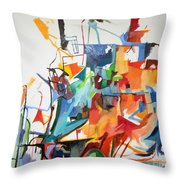 at the age of three years Avraham Avinu recognized his Creator 2 Throw Pillow
