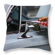 At The Carhop Throw Pillow