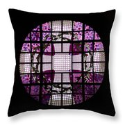 At The Cathedral Of Tampere Throw Pillow