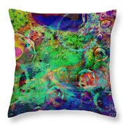 At The Cellular Level Throw Pillow