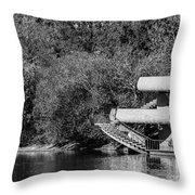 At The Lake-35 Throw Pillow