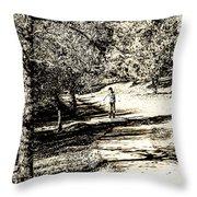 At The Lake-41 Throw Pillow
