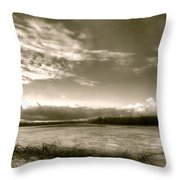 At The Pinckney Bend Throw Pillow