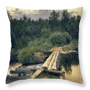 At The Shallow Throw Pillow