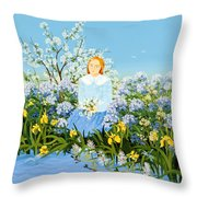 At The Shore Of Dreams Throw Pillow