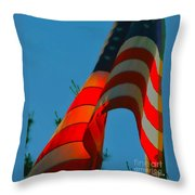 At The Twilight's Last Gleaming Throw Pillow