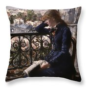 At The Window Throw Pillow