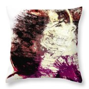 At This Very Moment Throw Pillow