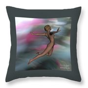 At World S End  4 Flame Throw Pillow