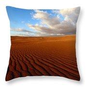 Atacama Desert Wilderness Throw Pillow