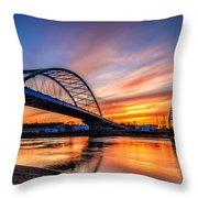 Atchison Sunset Throw Pillow