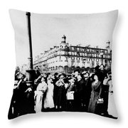 Atget Eclipse, 1912 Throw Pillow