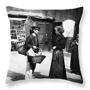 Atget Paris Street, C1898 Throw Pillow
