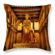 Athena Parthenos Throw Pillow