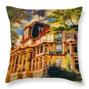 Athenaeum Hotel - Chautauqua Institute Throw Pillow