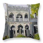 Athenaeum Throw Pillow