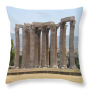 Athens 1 Throw Pillow