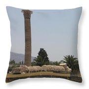Athens 2 Throw Pillow