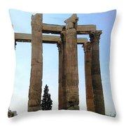 Athens 4 Throw Pillow