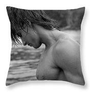 Athlete Throw Pillow