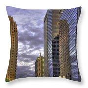 Atlanta 17th Street Atlantic Station Throw Pillow