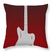 Atlanta Falcons Guitar Throw Pillow