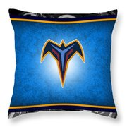 Atlanta Thrasher Throw Pillow