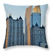 Atlanta Towers Throw Pillow